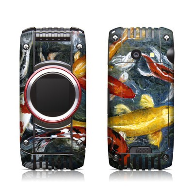 Casio G'zone Ravine 2 Skin - Koi's Happiness