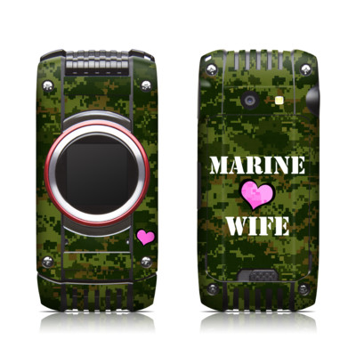Casio G'zone Ravine 2 Skin - Marine Wife