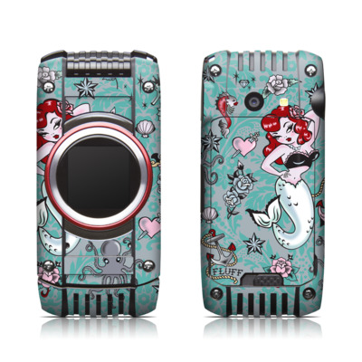 Casio G'zone Ravine 2 Skin - Molly Mermaid