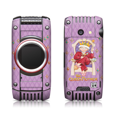Casio G'zone Ravine 2 Skin - Queen Mother