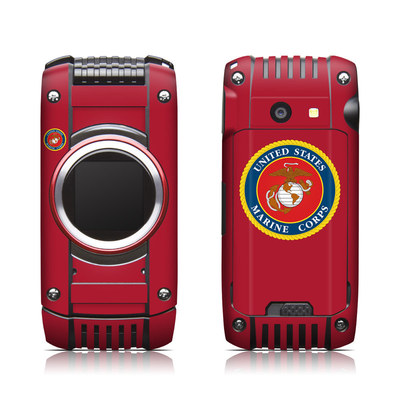 Casio G'zone Ravine 2 Skin - USMC Red
