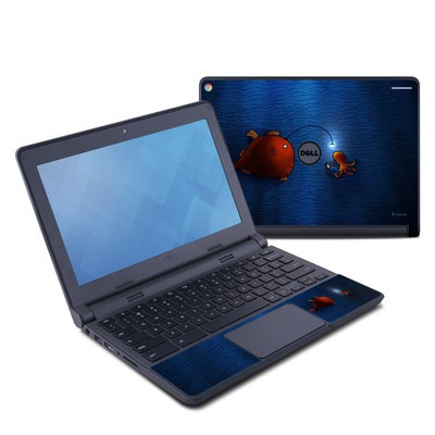 Dell Chromebook 11 Skin - Angler Fish