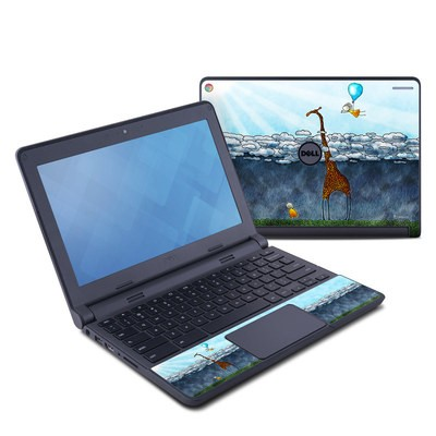 Dell Chromebook 11 Skin - Above The Clouds