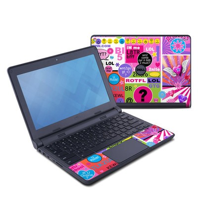Dell Chromebook 11 Skin - BFF Girl Talk