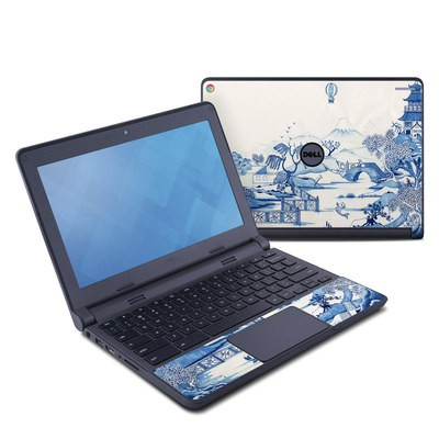 Dell Chromebook 11 Skin - Blue Willow