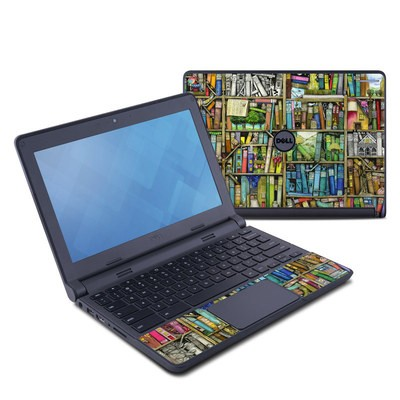 Dell Chromebook 11 Skin - Bookshelf