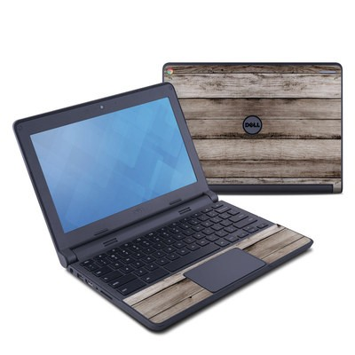 Dell Chromebook 11 Skin - Barn Wood