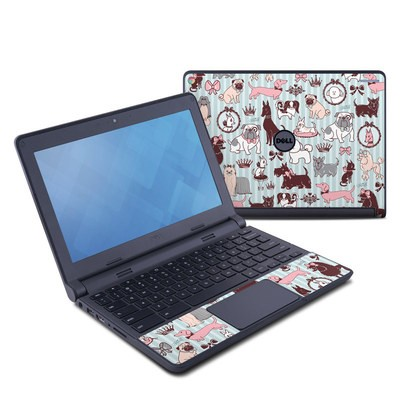 Dell Chromebook 11 Skin - Doggy Boudoir