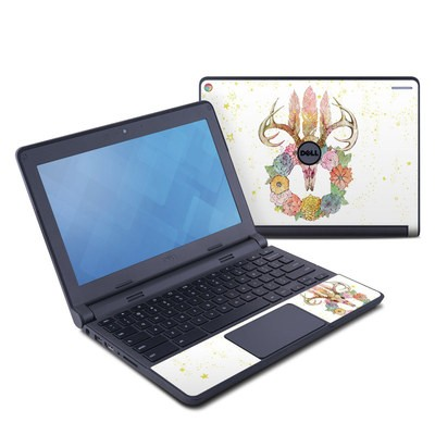 Dell Chromebook 11 Skin - Deer Skull