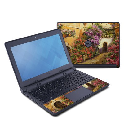 Dell Chromebook 11 Skin - Via Del Fiori