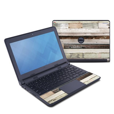 Dell Chromebook 11 Skin - Eclectic Wood