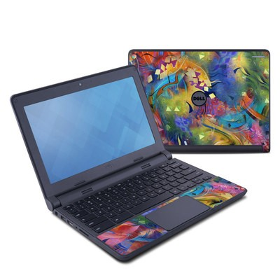 Dell Chromebook 11 Skin - Fascination