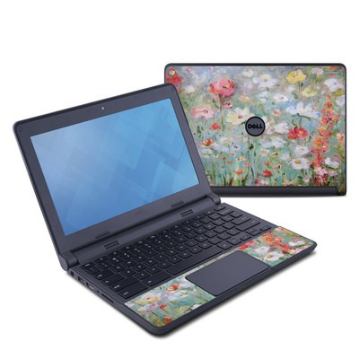 Dell Chromebook 11 Skin - Flower Blooms