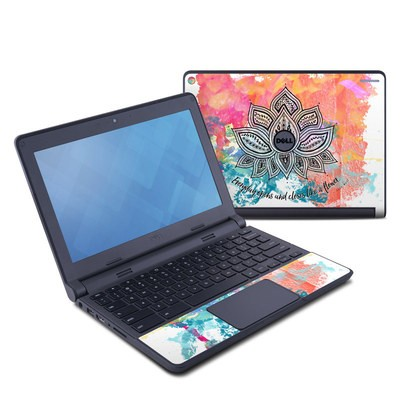 Dell Chromebook 11 Skin - Happy Lotus