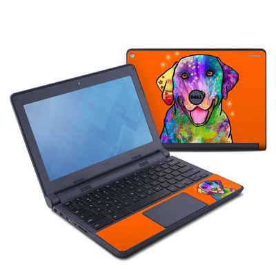 Dell Chromebook 11 Skin - Happy Sunshine