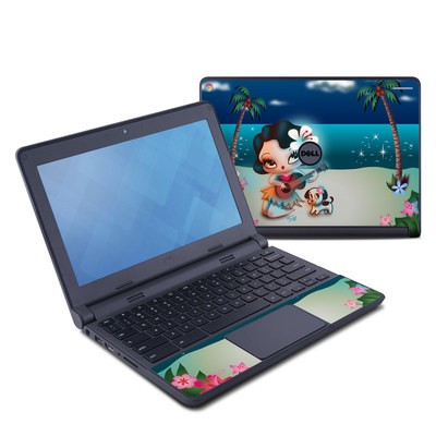 Dell Chromebook 11 Skin - Hula Night