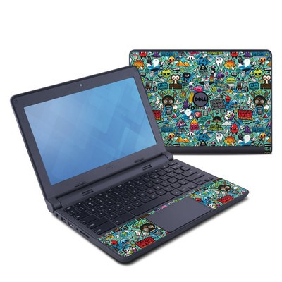 Dell Chromebook 11 Skin - Jewel Thief