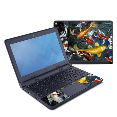 Dell Chromebook 11 Skin - Koi's Happiness