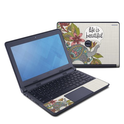 Dell Chromebook 11 Skin - Life is Beautiful