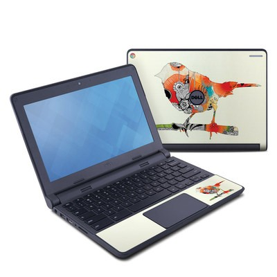 Dell Chromebook 11 Skin - Little Bird