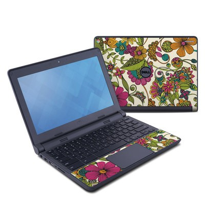 Dell Chromebook 11 Skin - Maia Flowers