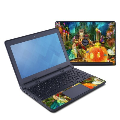 Dell Chromebook 11 Skin - Midnight Fairytale