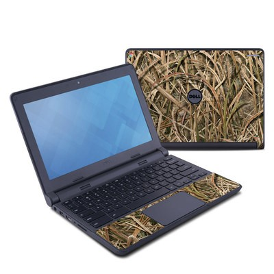 Dell Chromebook 11 Skin - Shadow Grass Blades