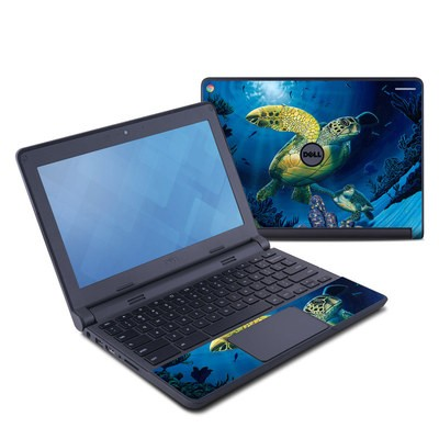 Dell Chromebook 11 Skin - Ocean Fest