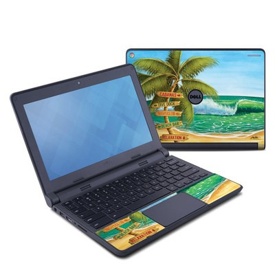 Dell Chromebook 11 Skin - Palm Signs
