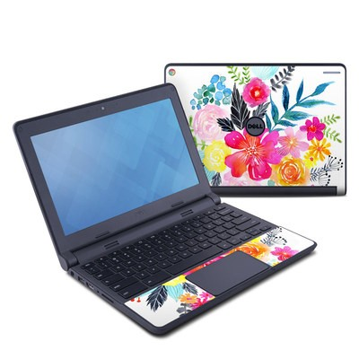 Dell Chromebook 11 Skin - Pink Bouquet