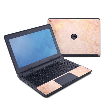 Dell Chromebook 11 Skin - Rose Gold Marble
