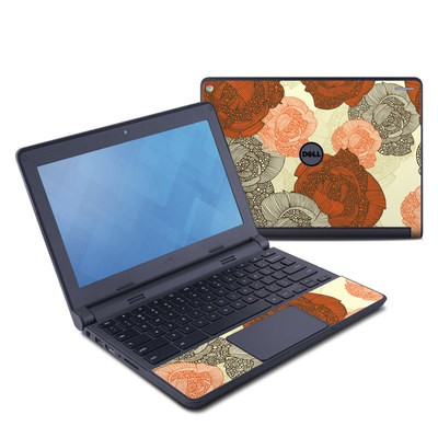 Dell Chromebook 11 Skin - Roses