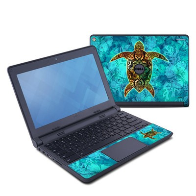 Dell Chromebook 11 Skin - Sacred Honu