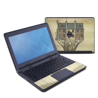 Dell Chromebook 11 Skin - Terraced Houses