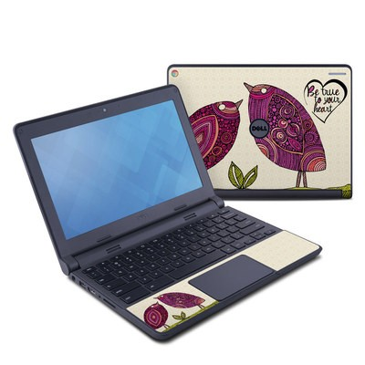 Dell Chromebook 11 Skin - True Birds