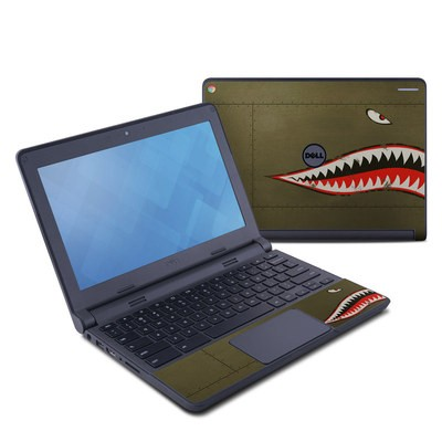 Dell Chromebook 11 Skin - USAF Shark