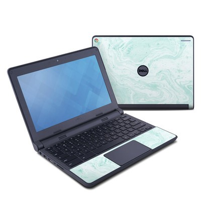 Dell Chromebook 11 Skin - Winter Green Marble
