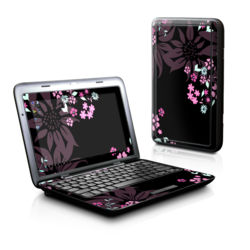 Dell Inspiron Duo Skin - Dark Flowers