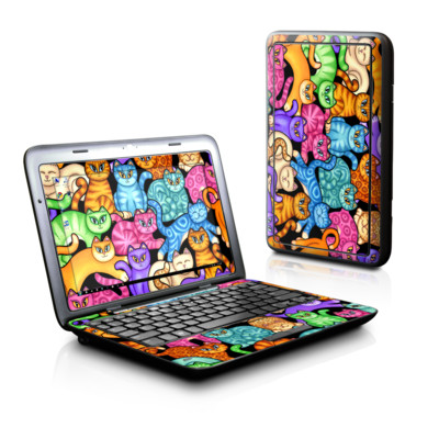 Dell Inspiron Duo Skin - Colorful Kittens