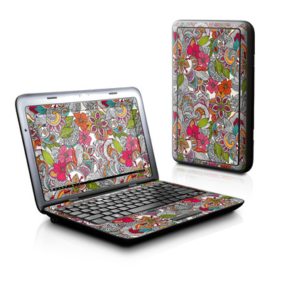 Dell Inspiron Duo Skin - Doodles Color