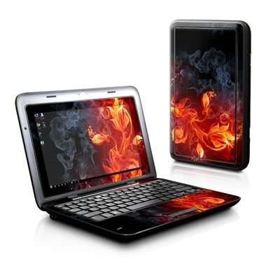 Dell Inspiron Duo Skin - Flower Of Fire