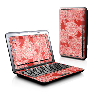 Dell Inspiron Duo Skin - Red Dahlias