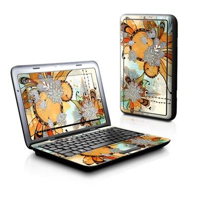 Dell Inspiron Duo Skin - Sunset Flowers