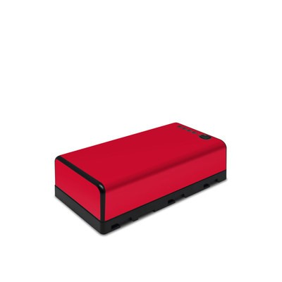 DJI CrystalSky Battery Skin - Solid State Red