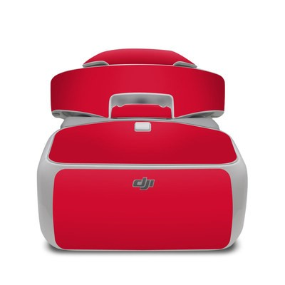 DJI Goggles Skin - Solid State Red