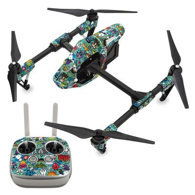 DJI Inspire 1 Skin - Jewel Thief