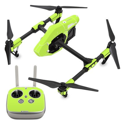 DJI Inspire 1 Skin - Solid State Lime