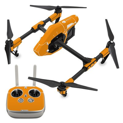 DJI Inspire 1 Skin - Solid State Orange
