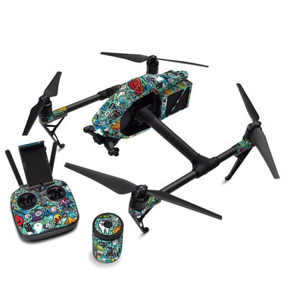 DJI Inspire 2 Skin - Jewel Thief