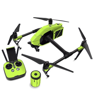 DJI Inspire 2 Skin - Solid State Lime